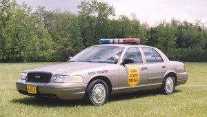 Iowa State Patrol Squad Car