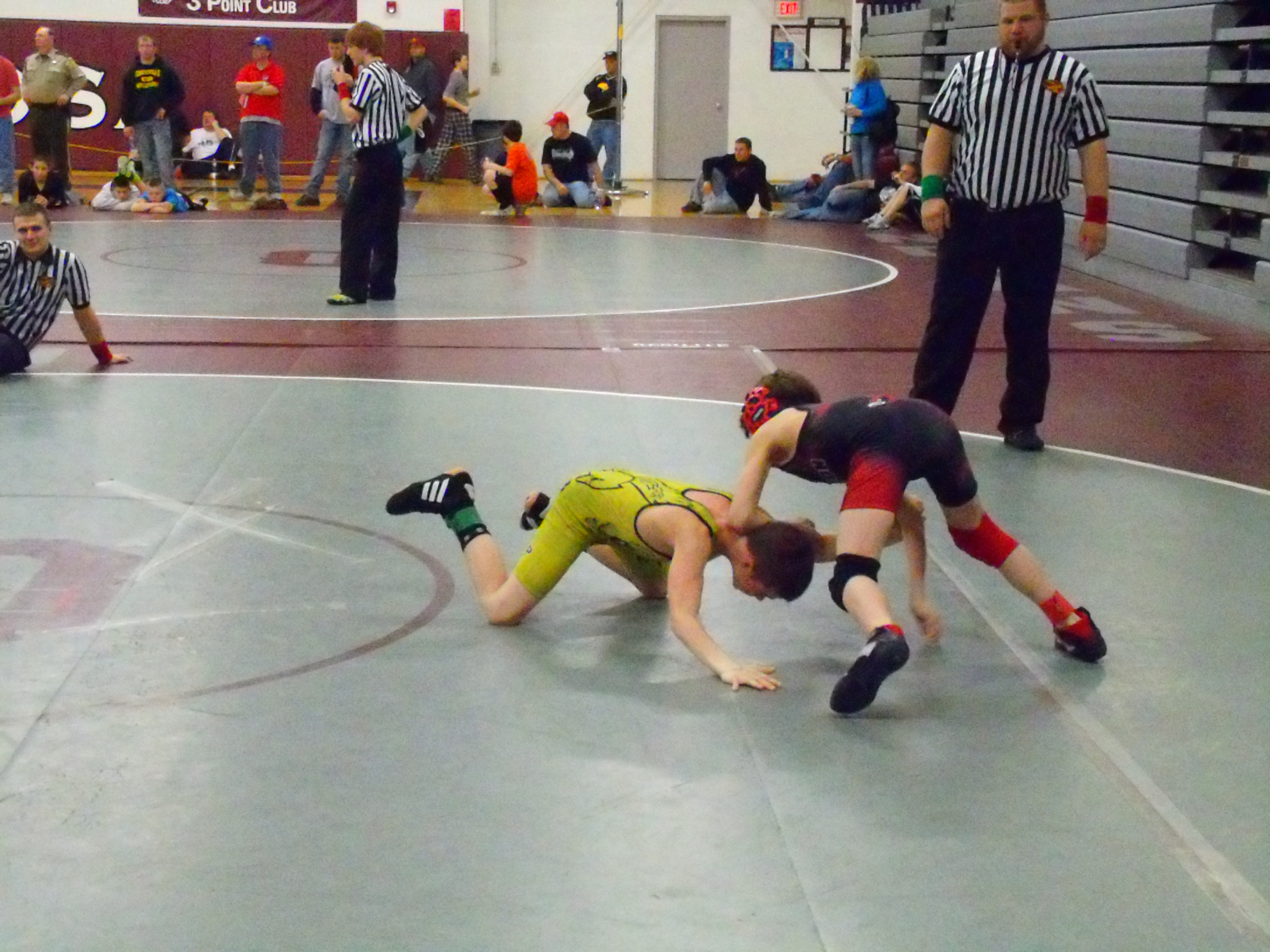 KAOS Gold Wrestling hosted the AAU District 6 wrestling meet on Saturday, March 12th