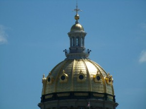 Under Iowa's Golden Dome, the Iowa Legislature is now hitting it's stride in the 2012 session