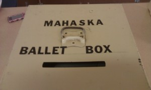 Voters went to the ballet box in Beacon on Tuesday