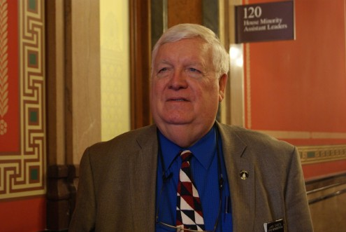 Rep. Larry Sheets (R) (photo by Don Hubbard)