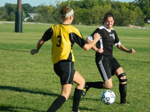 Mahaska Soccer Club took on Des Moines Soccer club Sunday at the Lacey Recreation Complex. (submitted photo)