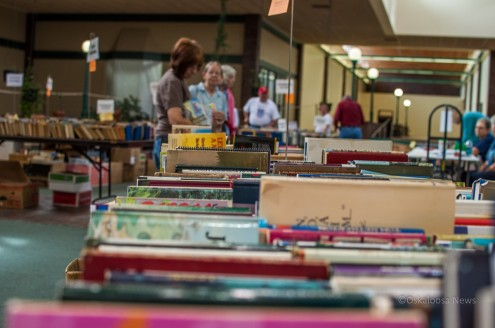 The 48th Annual AAUW Book sale ends on Saturday.