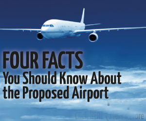 Four Facts You Should Know About The Proposed Regional Airport