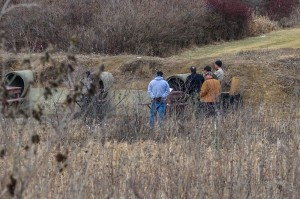 Mahaska County Sheriff Deputies investigate what they say is probably an accidental shooting at the Hull Shooting Range west of Oskaloosa Wednesday afternoon.