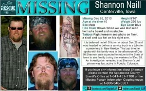 The family of Shannon Naill are asking for your help in locating their loved one.