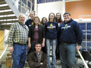 Oskaloosa FFA At Iowa FFA Enrichment Center (submitted photo)
