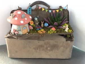 Stam's offers a fun Fairy Garden class. (photo by Shelly Spaur)