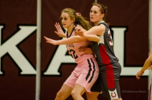 Oskaloosa Varsity Girls Basketball team had their hands full with DCG on Friday night.