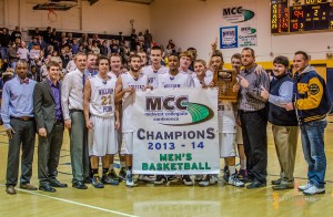 The William Penn Men's Basketball team punched their ticket to the national tournament with a big win over Grand View in the MCC Conference Tournament.