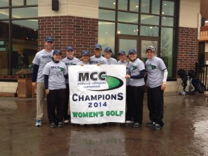 MCC Women's Golf Champions - William Penn Lady Statesmen