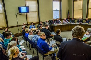 Oskaloosa City Council heard from the Oskaloosa Water Board attorney Richard Malm in regards to Water Board Trustee Errin Keltners removal from the board.