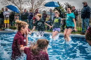 Area Students Join In A Polar Plunge For One Of Their Own