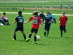 Youth Soccer at the Lacey Complex