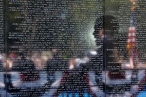 The Vietnam Veterans War Memorial - The Wall (photo courtesy The White House)