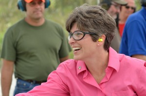 Joni Ernst defeated 4 of her fellow Republicans in the open US Senate seat. (file photo)