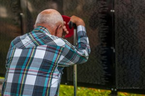 Oskaloosa and area residents left many emotions at 'The Wall That Heals' during it's stop in Oskaloosa recently.