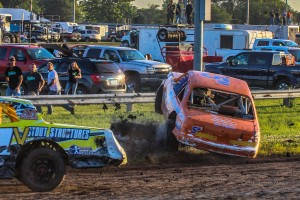 19th Annual Budweiser Great Ameican Stock Car Shootout (Photo by Denis Currier/Oskaloosa News)