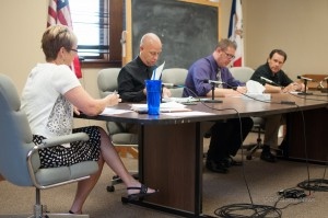 Mahaska County Board of Supervisors for August 4, 2014
