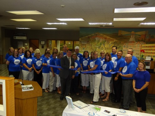 Blue Zones Project® Oskaloosa today announced another employer earning Blue Zones Worksite® designation. MidWestOne Bank® was designated after completing the necessary items in the Blue Zones Worksite pledge.