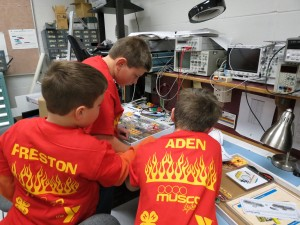 FIRST® LEGO® League (FLL) is supported locally by Cabelvey and Musco