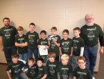 The OskyBots FIRST LEGO League (FLL) team consists of youth in 4th-6th grade.