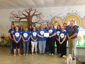 Crisis Intervention Services (CIS) in Oskaloosa has earned Blue Zones Worksite® designation. CIS completed the necessary items in the Blue Zones Worksite pledge,  (submitted photo)
