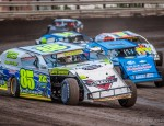 Southern Iowa Speedway racing action on June 18, 2015