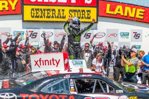 Hornish stands in for injured Matt Tifft and winds up in Casey's General Stores Victory Lane