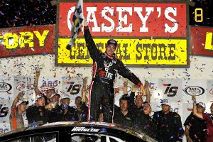 Chase Briscoe Extends ARCA Points Lead After Winning ABC Supply Co. 150 Presented by Casey's General Stores