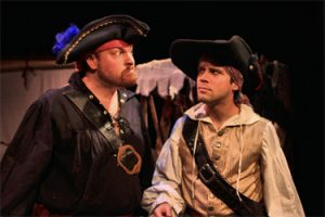 """Pirates of the Caribbean"" meets ""Whose Line Is It Anyway?"" with a splash of ""Monty Python"" and even some ""Mad Libs"" tossed into the mix – The Greatest Pirate Story Never Told is a swashbuckling musical adventure for the whole family! The Greatest Pirate Story Never Told comes to the George Daily Auditorium stage on Thursday, October 6 at 7:00 p.m."