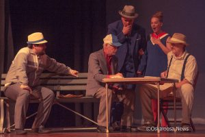 The production of 'George' took over 50 community members to make happen.