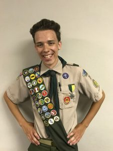 Soren Richard Pearce of Oskaloosa was awarded the highest advancement award the Boy Scouts of America offers to Scouts, the rank of Eagle Scout. (submitted photo)