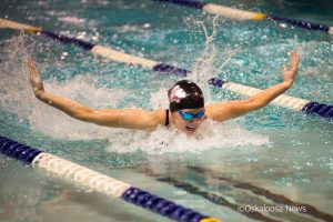 The Oskaloosa Indians Girls Swim Team hosted their first ever meet this week at the Mahaska County YMCA.