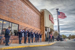 Veterans enjoyed a free breakfast at Hy-Vee on Saturday morning, November 11th 2017.