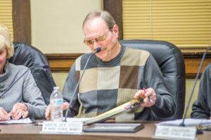 Aaron Ver Steeg closes the book on his time on the Oskaloosa city council.