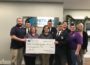 Kinetic Edge donation to the American Legion in Oskaloosa.