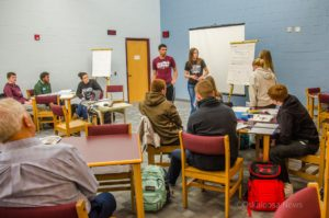 Oskaloosa High School students train to help problem solve and then present real life solutions for area businesses.