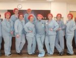 MHP celebrated Wear Red Day on Friday, Feb. 2, a day is designed to help raise awareness of heart disease in women. While not able to participate in the Jean's Day MHP sponsored for employees, Surgical Services staff still showed their support by wearing red surgical caps.