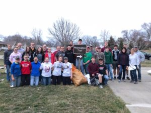 IGNITE youth group from 1st Christian Reform Church in Oskaloosa (submitted photo)