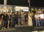 Austin McCarl picked up his fourth win of the season and a half beef at Knoxville Raceway Saturday (Knoxville Raceway Photo)