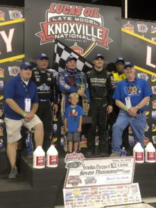 Brandon Sheppard won from 19th on Night #2 of the Late Model Nationals Friday
