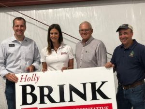 Left to Right: Mike Naig, Holly Brink, Ken Rozenboom, Joe Sinclair