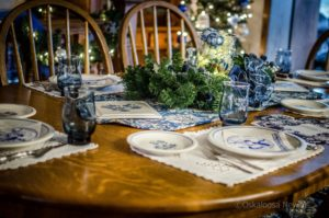 The Oskaloosa Tour of Homes was held on December 2nd and 3rd. (photo by Ginger Allsup)