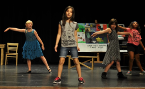 Upcoming After-school George Daily Youth Theatre camp, New Olympians!