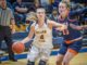Kate Ylitalo (Jr., Maple Plain, Minn., Biology) came out of the gates red-hot racking up 10 points in the first quarter to guide the navy and gold to an early 21-9 advantage after one quarter of play.