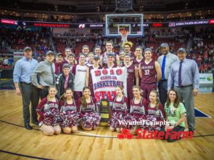 The Oskaloosa Indians are Iowa's Class 3A State Champions.